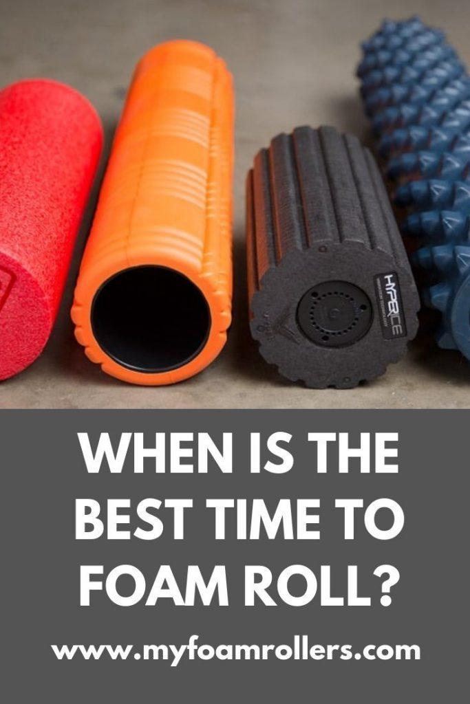when-to-foam-roll